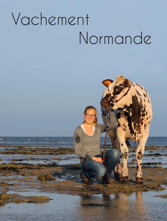 Visuel Vachement Normande